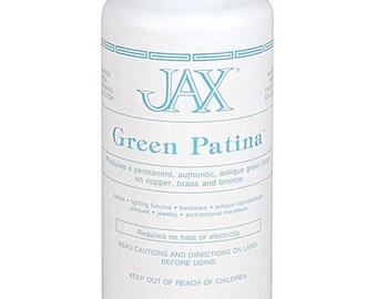 Jax Green Patina for Copper, Brass & Bronze 16oz Bottle (PM9100) (UPS)