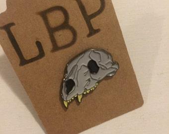 Bear Skull Pin