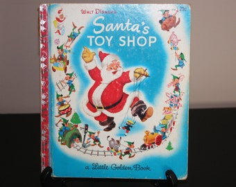 Santa's Toy Shop - 1950 Little Golden Book