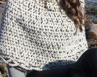 Crochet Capelet Pattern: 'Capelet & Boot Cuffs' Fall WinterFashion, Crochet Cape