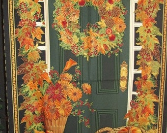 "Fall Panels - Gather Together by Timeless Treasures - 24"" panel"