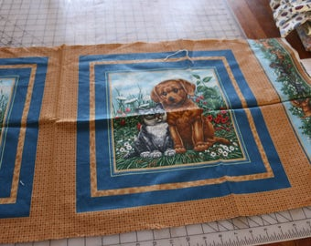 21 Set of dogs for pillow, purse or quilt 21