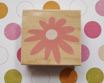 Sale - Solid Blossom, Flower - Hero Arts Rubber Stamp