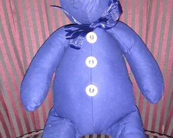 So Blue Teddy Bear