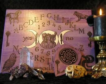 PREMIUM Hecate Spirit Board with Planchette~ouija