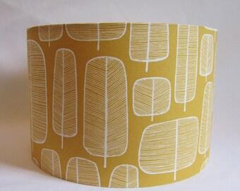 NEW: Designer Miss Print Yellow Lamp shade, 20cm, 30cm or 40cm, Ceiling or lamp