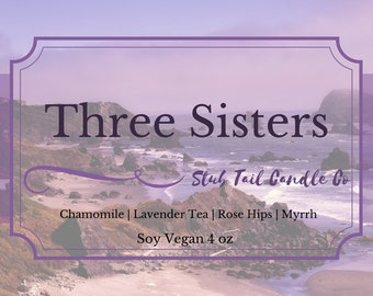 Three Sisters - Soy Candle Inspired by The Wicked Deep