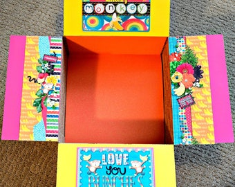 Care Package Kit - LDS Missionary 'Love You Bunches' Monkey - INSTANT DOWNLOAD