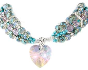Cleopatra Swarovski Pet Necklace