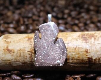 Copper Firebrick Pendant