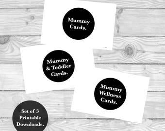 Mummy Milestones, Positive Affirmations, Printable Milestone Cards, Activity Milestones, Parenting Milestone, Baby Milestone Cards,