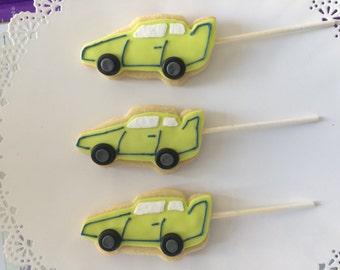 Race Car Cookies