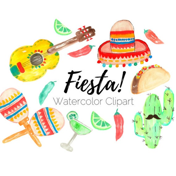 fiesta clip art taco clip art cinco de mayo clip art rh etsystudio com fiesta clip art images fiesta clipart images