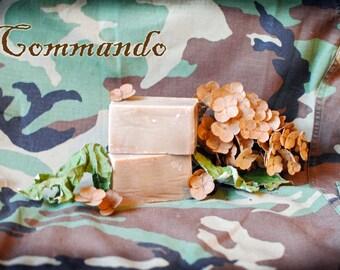 Commando Goat Milk Soap