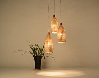 bamboo pendant lighting. you may also like. bottle shape bamboo and wood pendant lamp lighting a