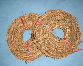 Grapevine Garland, 150 Feet of Natural Grapevine Garland, 10 Rolls of 15 Feet in Each Roll, Trellis, Arches, Patios, Weddings, Showers