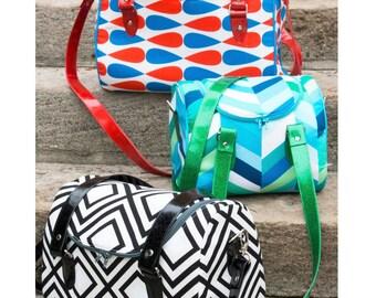 Tortoise Bag PDF sewing pattern