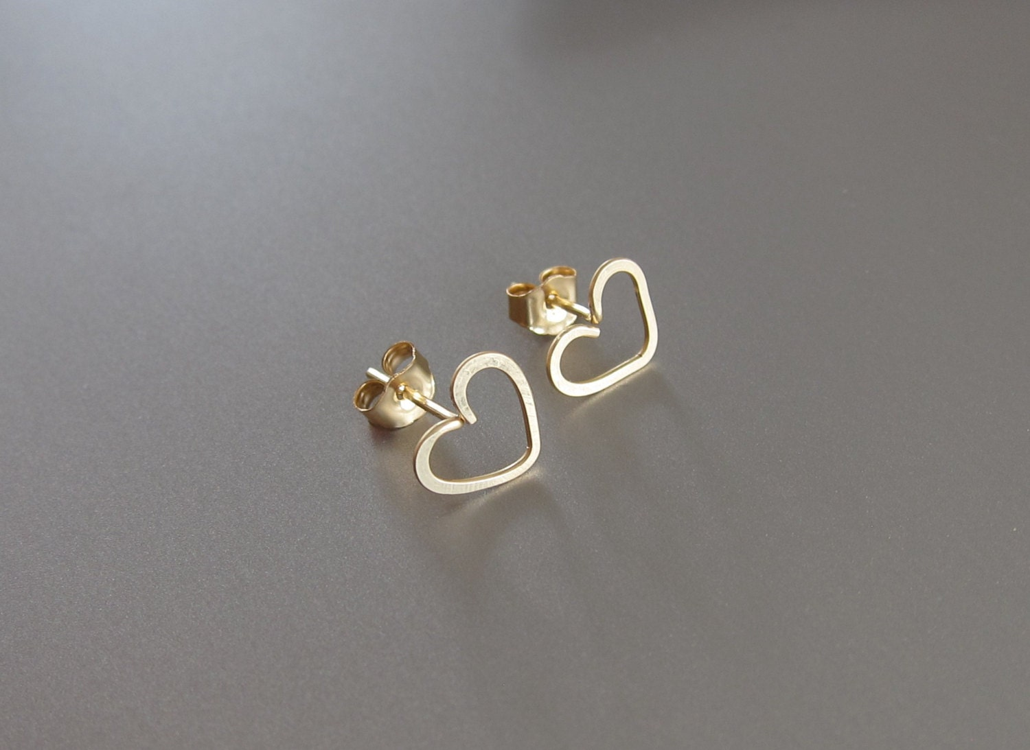 sterling earrings silver tiny heart post infinity copy of stud