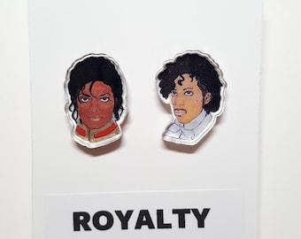 Pop Royalty Acrylic Earrings