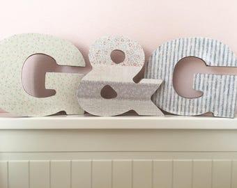 Wood letters CUSTOM MADE