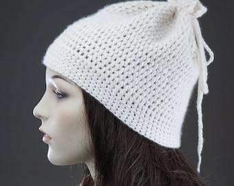 Pattern Crochet Hat/ Easy Crochet Pattern / Beginners Crochet Pattern / Recycled cashmere crochet pattern/ PDF file/ Instant download