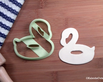 Flamingo Pool Float Cookie Cutter. Unique Cookie Cutter. Baking Gifts. Pool Party Cookies. Fondant Molds. Bird Cookie Cutter