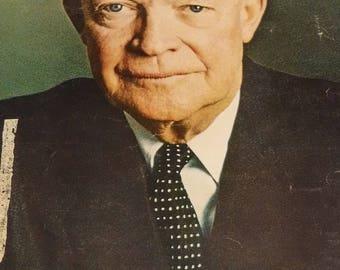 Newsweek Magazine April 7, 1969 Dwight D. Eisenhower's Death, Other News & Ads