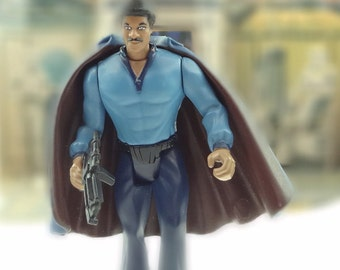 Star Wars Lando Calrissian Action Figure from POTF 2 Series 1995