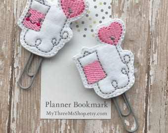 Iv Bag Nurse Feltie Planner Clip, Medical Feltie Planner Bookmark Paperclip, Journaling Accessory Planner Gift, Nurse Planner gift