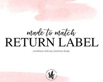 Made to Match Return Address Label