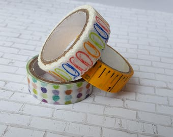 Washi Sample - School set