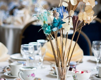 10 table decorations for a wedding reception