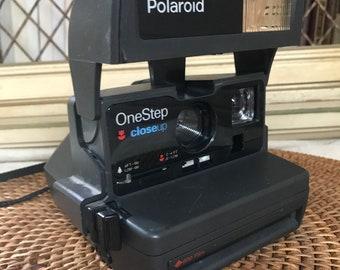 Polaroid OneStep Closeup Camera, Takes 600 Film
