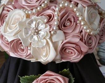 Handmade Vintage Inspired  Bridal Bouquets