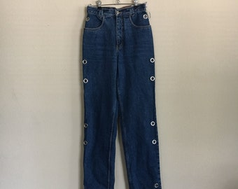 Highwaisted cowgirl jeans