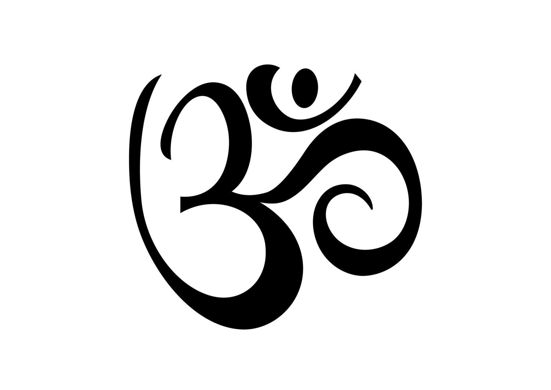 Aum ohm om yoga temporary tattoo set of 2 yoga gift zoom buycottarizona Gallery