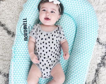 SALE!! Premium Baby Nest, Baby Lounger, Infant Lounger, Infant Nest, Baby Bed, Portable Crib, Co-Sleeper, Baby Travel Bed w/Ultra Soft Cover