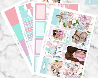 MINI KIT - 'Picnic' // Erin Condren Planner Sticker Kit - MATTE