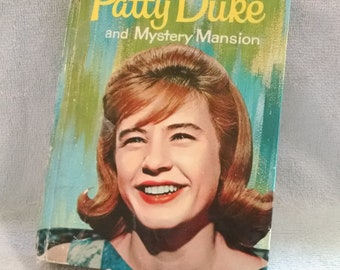 Vintage Book Patty Duke and Mystery Mansion