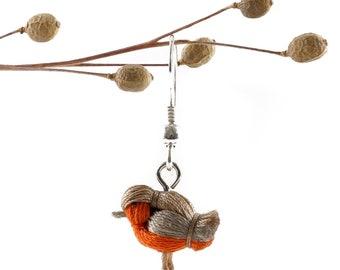 DORIMU miniature bird earing - ROBIN