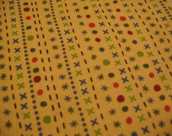 Riley Blake Fabric Scoot Yellow Stripe -1 YD