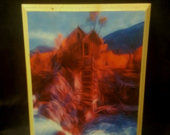 Crystal Mill wall plaque