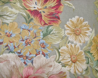 Home Decorator Fabric Anju Wood Ridge, Inc. Sage Floral Fabric