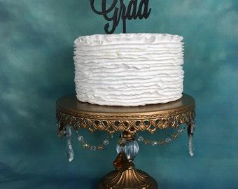 Graduation Toppers, Congrats Grad Cake Topper, Graduation Cake Topper, High School Graduation Party, College Graduation Party