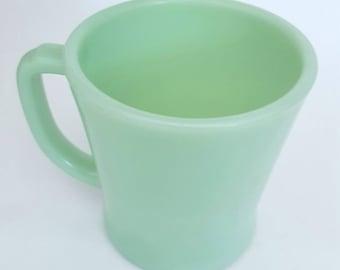 Fireking Jadeite mug/Anchor hocking/vintage/1950's/coffee mug