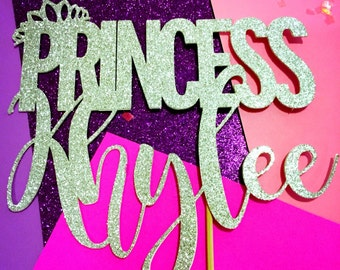 Princess Cake Topper, Birthday Princess Cake Topper, Birthday Cake Topper, Princess Party, Princess, Birthday Party, Princess Birthday