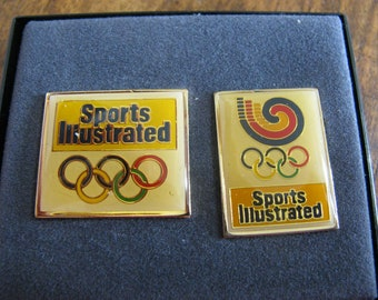 Vintage Sports Illustrated Olympic Pins