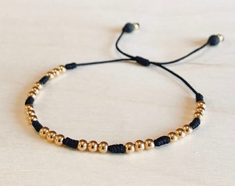 Fearless Gold Knotted Bracelet