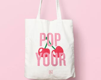 Pop Your Cherry Tote Bag
