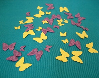 500 Hand Punched Butterfly Confetti